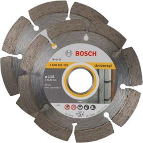 Bosch Universal 115mm Diamond Blade 22.23mm Bore (2pk)