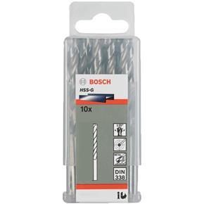 """Bosch HSS-G 1/4"""" dia Drill Bit (10pk)"""