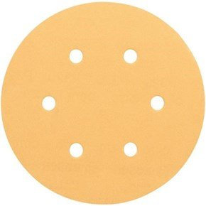Bosch 150mm 40G Wood + Paint Sanding Discs (50pk)
