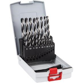 Bosch HSS PointTeQ Drill Bit Set for Metal (19pcs)