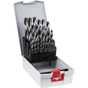 Bosch HSS PointTeQ Drill Bit Set for Metal (25pcs)