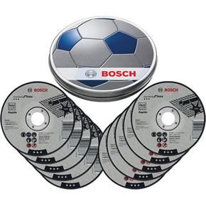 Bosch 115mm INOX Cutting Discs in Football Tin (10pcs)
