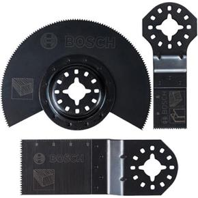 Bosch Starlock Multi-Tool Blade Set for Wood+Metal (3pcs)