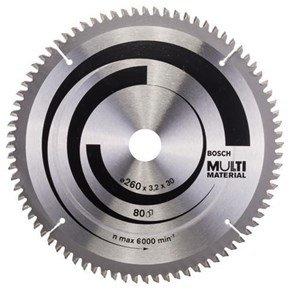 Bosch Multi Material TCT Saw Blade 260mmx80Tx30mm
