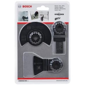 Bosch Starlock Multi-Tool Blade Set for Tile (3pcs)