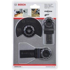 Bosch Starlock Multi-Tool Blade Set for Wood+Metal (3pcs)