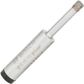 Bosch 6mm Dry Diamond Tile + Glass Drill Bit