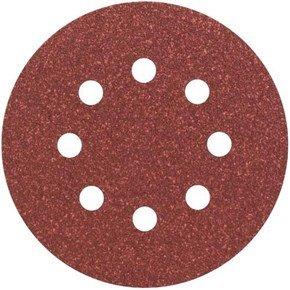 Bosch 80 Grit Expert Wood Sanding Disc 125mm (5pk)
