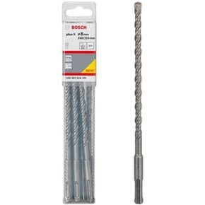 Bosch SDS-Plus-5 8.0mm x 150mm WL Drill Bits x10