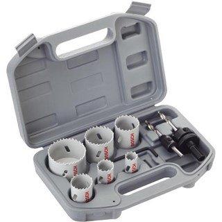 Bosch Electrician's Bi-Metal Holesaw Set (9pcs)