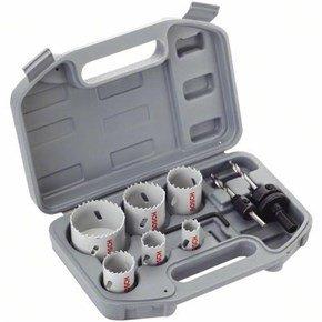 Bosch 9pc HSS BiM Holesaw Set
