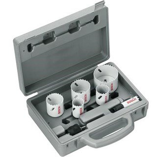 Bosch 9pc Progressor Holesaw Set