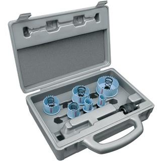 Bosch 9 Piece Sheet Steel Holesaw Set