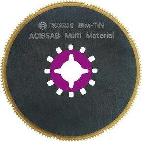 Bosch AOI65AB Multi-cutter BiM-TiN Flat Blade 65mm