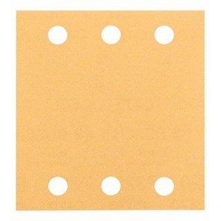 Bosch 120G 115x107mm Sanding Sheets for Wood + Paint (10pcs)