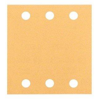 Bosch 80G 115x107mm Sanding Sheets for Wood + Paint (10pcs)