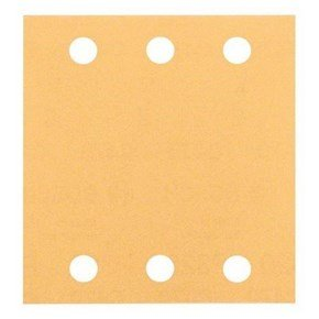 Bosch 80G 115x107mm Sanding Sheets for Wood + Paint (10pcs)
