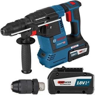 Bosch GBH18V-26F 18V SDS Drill (Chuck, 2x 6.3Ah ENERACER)