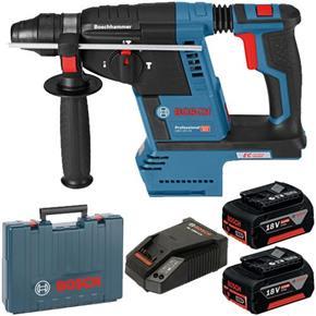 Bosch GBH18V-26 18V Brushless SDS Drill (2x 5Ah)