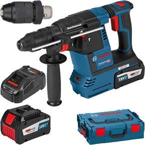 Bosch GBH18V-26F 18V SDS Drill (2x 6.3Ah Eneracer, Chuck)