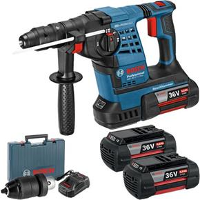 Bosch GBH36VF-Li Plus 36v SDS Drill (3x 4Ah)