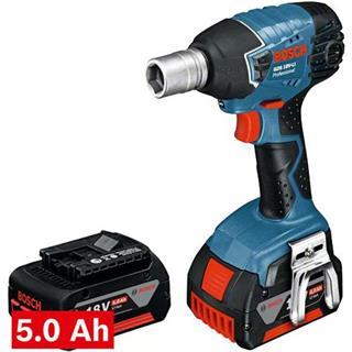 Bosch GDS18VLi 18V Impact Wrench (2x 5Ah)