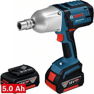 Bosch GDS18VLiHT 18v Impact Wrench (2x 5Ah)
