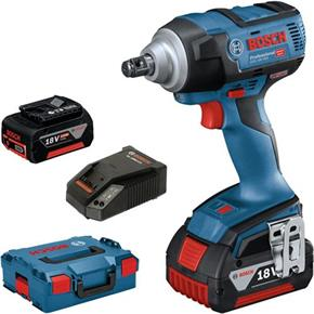 Bosch GDS 18V-300 18V High-torque 300Nm Impact Wrench (2x 5Ah)