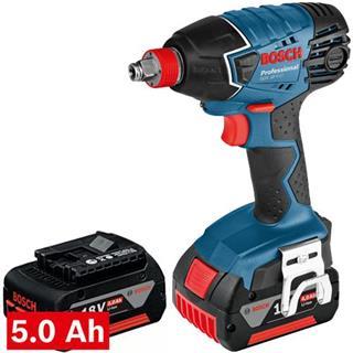 Bosch GDX18VLi Impact Wrench/Driver (2x 5Ah)