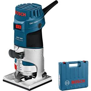 "Bosch GKF600 600W 1/4"" Palm Router"