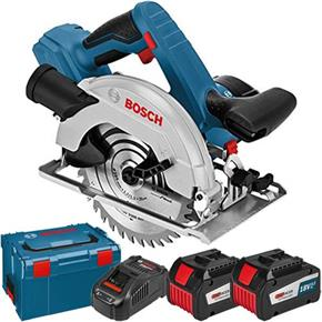 Bosch GKS18V-57G 18v Circular Saw (2x 6.3Ah Eneracer)