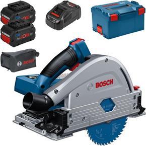 Bosch GKT 18V-52 GC 18V BITURBO Plunge Saw (2x 8Ah ProCore)