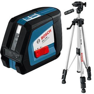 Bosch GLL 2-50 Cross Line Laser + Tripod