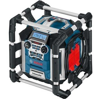 Bosch GML 50 POWERBOX Jobsite Radio 240v