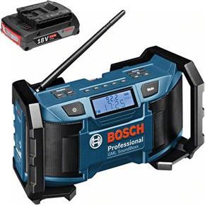 Bosch GML SoundBoxx Mains/AAA/14.4V-18V Radio (1x 2Ah)