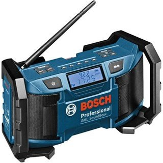 Bosch GML SoundBoxx Site Radio (18v + 14.4v)