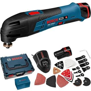 Bosch GOP10.8V-Li Multi-Tool Kit (2x 2.0Ah)