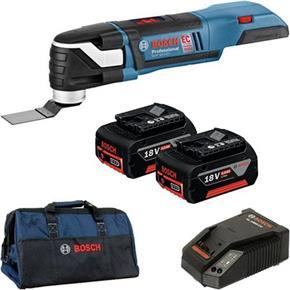 Bosch GOP18VEC 18V Brushless Multi-Cutter (2x 5Ah, Bag)