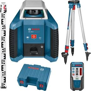 Bosch GRL 400 H 400m Rotating Laser Level Set
