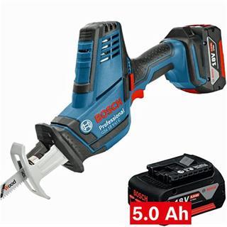 Bosch GSA18VLiC 18V Recip Saw (2x 5Ah)