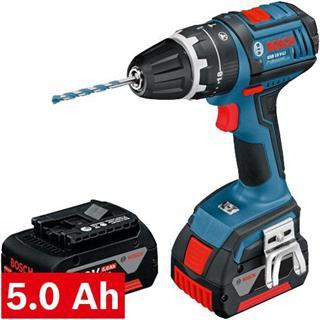 Bosch GSB18VLi 18v Combi Drill (2x 5Ah)