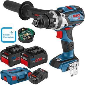 Bosch GSB18V-85C 18V Combi Drill (L-Boxx, 2x 7Ah ProCore)