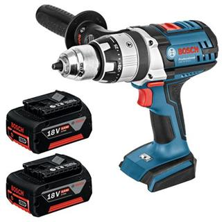 Bosch GSB18VE2-Li 18V Robust Combi Drill (2x 5Ah)