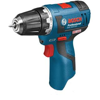 Bosch GSR 10.8 V-EC Drill Driver + Chuck (Naked)