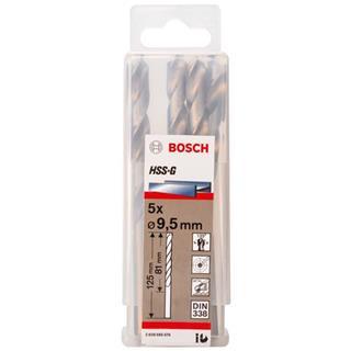 Bosch HSS-G 9.5mm dia Drill Bit (5pk)
