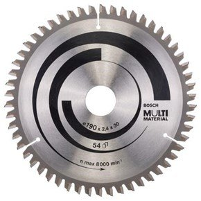 Bosch Multi Material TCT Saw Blade 190x54x30mm Bore