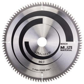 Bosch Multi Material TCT Saw Blade 254x96x30mm Bore