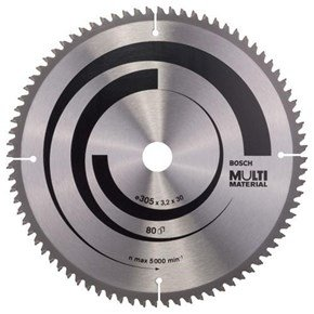 Bosch Multi Material TCT Saw Blade 305x80x30mm Bore