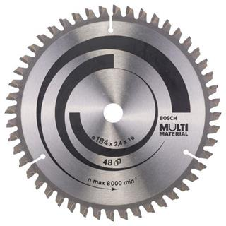 Bosch Multi Material TCT Saw Blade 184x48x16mm Bore