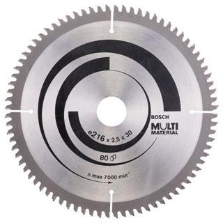 Bosch Multi Material TCT Saw Blade 216x80x30mm Bore